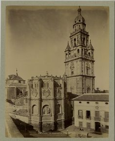 Espagne, Murcie, Vue générale de la Cathédrale     #Europe #Espagne_Espana