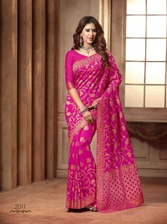 Beautiful Pink Coloured Raw Silk Designer Saree: Amazon : Clothing & Accessories  http://www.amazon.in/gp/product/B018IBCWGC/ref=as_li_tl?ie=UTF8&camp=3626&creative=24822&creativeASIN=B018IBCWGC&linkCode=as2&tag=onlishopind05-21