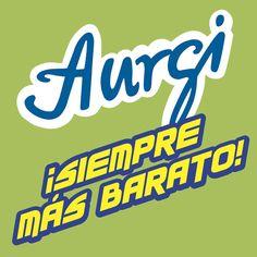 Logo y Claim en Castellano de Aurgi. Más información en www.aurgi.com