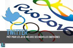 Twitter est prêt pour les Jeux Olympiques de Rio 2016 avec sa nouvelle panoplie…
