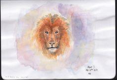 Lion #jbiiiz #drawing #painting #illus #watercolor