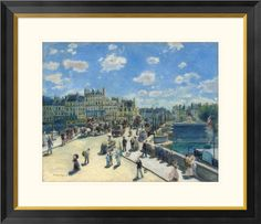 by Renoir with Burgeon Gold Frame The Rowers Lunch overstockArt Lunch at The Resturant Fournaise