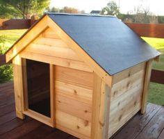 Large Dog Cedar Dog House