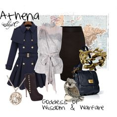 """""""Athena Inspired Outfit"""" by rubytyra on Polyvore"""