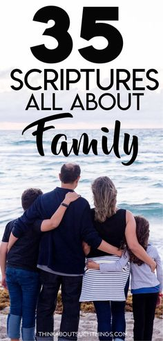 35 Family Scripture Verses - Trend Giving Love Quotes 2019 Family Qoutes, Family Bible Verses, Encouraging Bible Verses, Scripture Quotes, Bible Scriptures, Bible Verses About Family, Faith Quotes, Bible Resources, Inspirational Bible Quotes