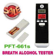 New red Backlight LCD digital Alcohol Tester breathalyzers Alcohol Detector, Dual LCD display Clock , Free shipping!