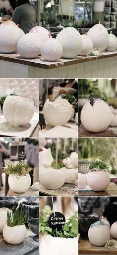Bekijk de foto van Schenkeltie met als titel balloneieren van gips of papier maché en andere inspirerende plaatjes op Welke.nl.