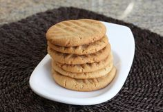 These peanut butter cookies are made with butter and smooth or chunky peanut butter. Peanut butter cookies.