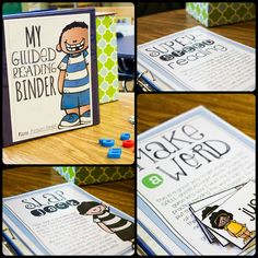 I wish I had this when I started teaching-- amazing Guided Reading resource for Kindergarten! Small Group Reading, Guided Reading Groups, Reading Lessons, Reading Resources, Reading Skills, Reading Games, Reading Binder, Reading Logs, Reading Club