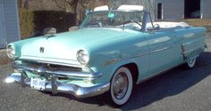53 Ford Crestline Sunliner Convertible Hair