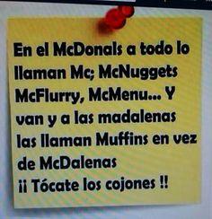 en el Mcdonals