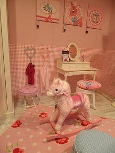 Inspiration: nice children's bedrooms (Woonbeurs Amsterdam). #childrensbedrooms #kids #bedrooms
