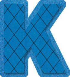 Alphabet, British Museum, Clip Art, Letters, Notting Hill, Gifs, Monogram, Letter K, Blue Nails