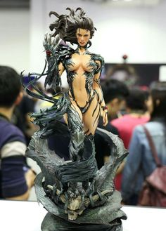 Witchblade. I don't know the studio who made that