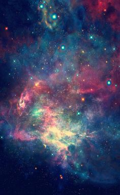 iPhone wallpaper- lockscreen - universe - galaxy - galáxia - nebulosa - nebula - universo - papel de parede                                                                                                                                                                                 Más