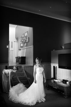 The bride with her full length bridal gown | Central Coast Wedding Photographers by Impact Images, also documenting weddings in Newcastle and Hunter Valley #newcastleweddingphotographer #Huntervalleywedding #newcastlewedding
