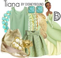 Tiana inspires this gorgeous Spring outfit | Disney Fashion | Disney Fashion Outfits | Disney Outfits | Disney Outfits Ideas | Disneybound Outfits | Disney Princess Outfit |