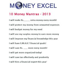10 Money Mantras - 2013
