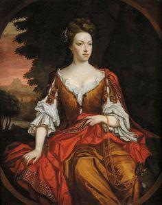 ca 1660s Peter LELY - Portrait of Lady Jane Livingstone, 17th Century