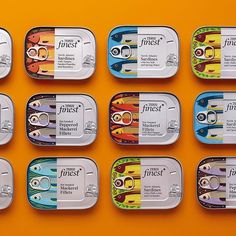 Head to today and you might catch a glimpse of these charmers. Featuring a contemporary take on time-old European styles, the… Cool Packaging, Food Packaging Design, Packaging Design Inspiration, Brand Packaging, Branding Design, Web Design Inspiration, Packaging Stickers, Food Branding, Packaging Ideas