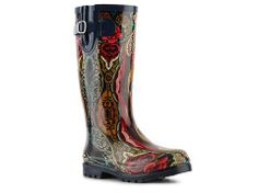 Nomad Puddles Navy Tiki Rain Boot All Boots Women's Boot Shop - DSW