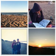 Telescope Viewing, Sunset & Night Sky at the Beach :: August Nature Study
