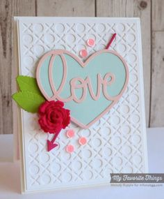 A Paper Melody: MFT's January Release Countdown Day 1- Love