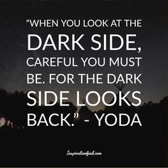 Yoda is one of the most well-known and beloved characters in the Star Wars franchise. Check out these wise Yoda quotes. Yoda Quotes, Life Quotes, Most Powerful Jedi, Famous Vampires, Beloved Movie, Running Jokes, Writing Fantasy, Looking Back, Dark Side