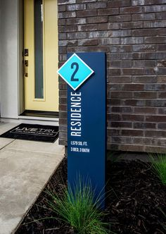 by Trumark Homes Signage 8 Sales Office, Signage, New Homes, Outdoor Decor, Home Decor, Decoration Home, Room Decor, Billboard, Signs