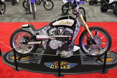 Winner @ 2016 Ultimate Builder in Miami - Indian Scout by Bill Dodge