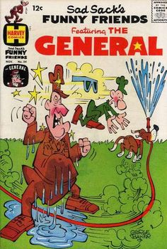 Sad Sack Cartoon | Sad Sack's Funny Friends #54 comic books - cover scans photos Sad Sack ...