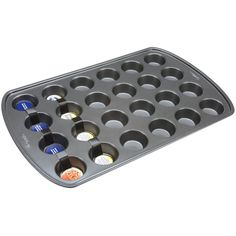 My favorite mini muffin pan. I can make muffins, infused butter pats, frozen herb ice cubes, and chocolates.  {affiliate}