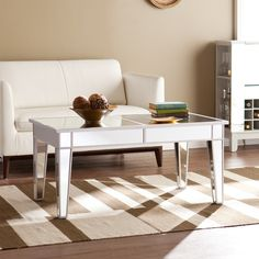 Found it at Joss & Main - Willmer Mirrored Coffee Table