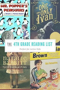 Best 4th Grade Book List