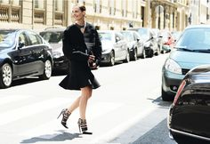 Street-Style Photographer Tommy Ton Shoots the Menswear Scene Street Look, Street Style Looks, Tommy Ton, Trumpet Skirt, Balenciaga Shoes, Fashion Editor, Back To Black, Nice Dresses, My Style