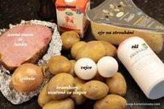 Francouzské brambory do křupava zapečené se smetanou a sýrem Dairy, Cheese, Homemade, Food, Home Made, Essen, Meals, Yemek, Hand Made