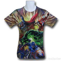 Images of Avengers Berserk Sublimated T-Shirt