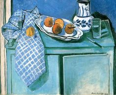 Henri Matisse. Still Life with Green Sideboard, 1928