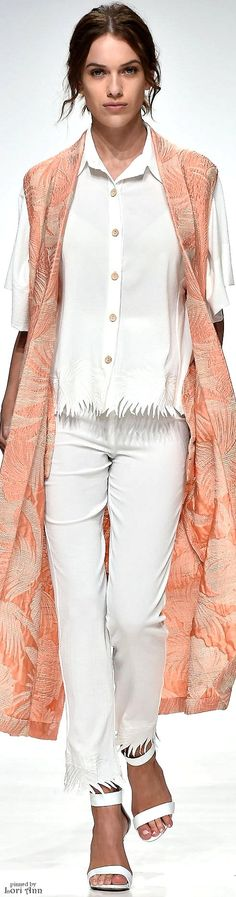 Endemage Spring 2016 RTW women fashion outfit clothing style apparel @roressclothes closet ideas