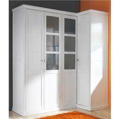 ARMARIO CON MÓDULO PARA RINCÓN - HAYA Bedroom Closet Design, Closet Designs, Tall Cabinet Storage, Locker Storage, Interior Design, Furniture, Home Decor, Merlin, Bed Room