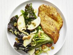 Turkey marsala with lemon broccolini recipe lemon curried turkey with apple cashew salad food networksalad recipesdinner forumfinder Choice Image