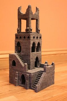 Wizard Tower (37cm High) for Gaming Boards Dwarven Forge - Hirst Arts - D&D in Toys & Games, Wargames & Role-Playing, Warhammer | eBay