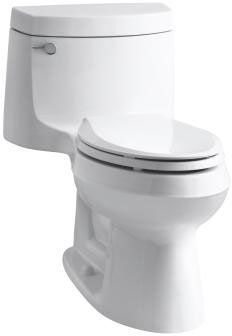 KOHLER Cimarron Biscuit WaterSense Elongated Chair Height Toilet Rough-In Size at Lowe's. With its versatile design, this one-piece Cimarron toilet matches a range of contemporary to classic decors. The elongated bowl and premium KOHLER toilet Kohler Cimarron, Floor Outlets, Kohler Toilet, Water Delivery, Lowes Home, Chair Height, Thing 1, Toilet Bowl, Polished Chrome