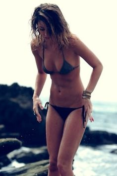 the greatest feeling in the world is to be in a bikini and not care about how your body looks. You feel FREE