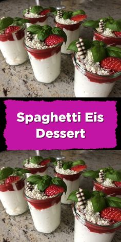Spaghetti Eis Dessert Christmas for you – Christmas – Noel 2020 ideas Peanut Butter Dessert Recipes, Dessert Recipes For Kids, Dessert Cake Recipes, Quick Dessert, Summer Desserts, Spaghetti Ice Cream, Spaghetti Eis Dessert, Mousse Dessert, Easy Homemade Ice Cream