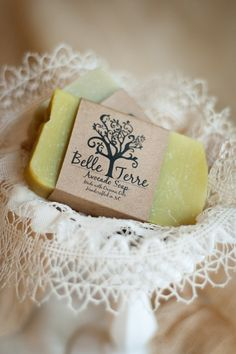 Avocado Oil All Natural Handcrafted Soap by belleterre $6
