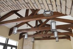 Cathedral+Ceiling+Beam+Design   Cathedral Ceiling with a Faux Wood Truss   Faux Wood Workshop
