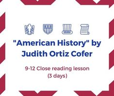 lessons love judith ortiz cofer Download and read lessons of love by judith ortiz cofer lessons of love by judith ortiz cofer when writing can change your life, when writing can enrich you by offering much money, why don't you try it.