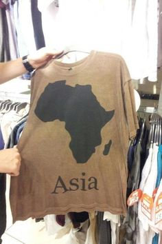 YOU HAD ONE JOB! Nice try Africa, nice try.