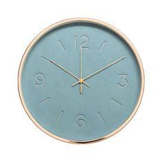 """Washam Slate Silent 12"""" Wall Clock"""